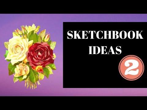 SKETCHBOOK IDEAS( food theme) #sketchbook #drawing #draw