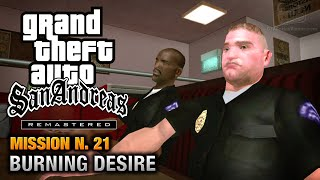 GTA San Andreas Remastered - Mission #21 - Burning Desire (Xbox 360 / PS3)
