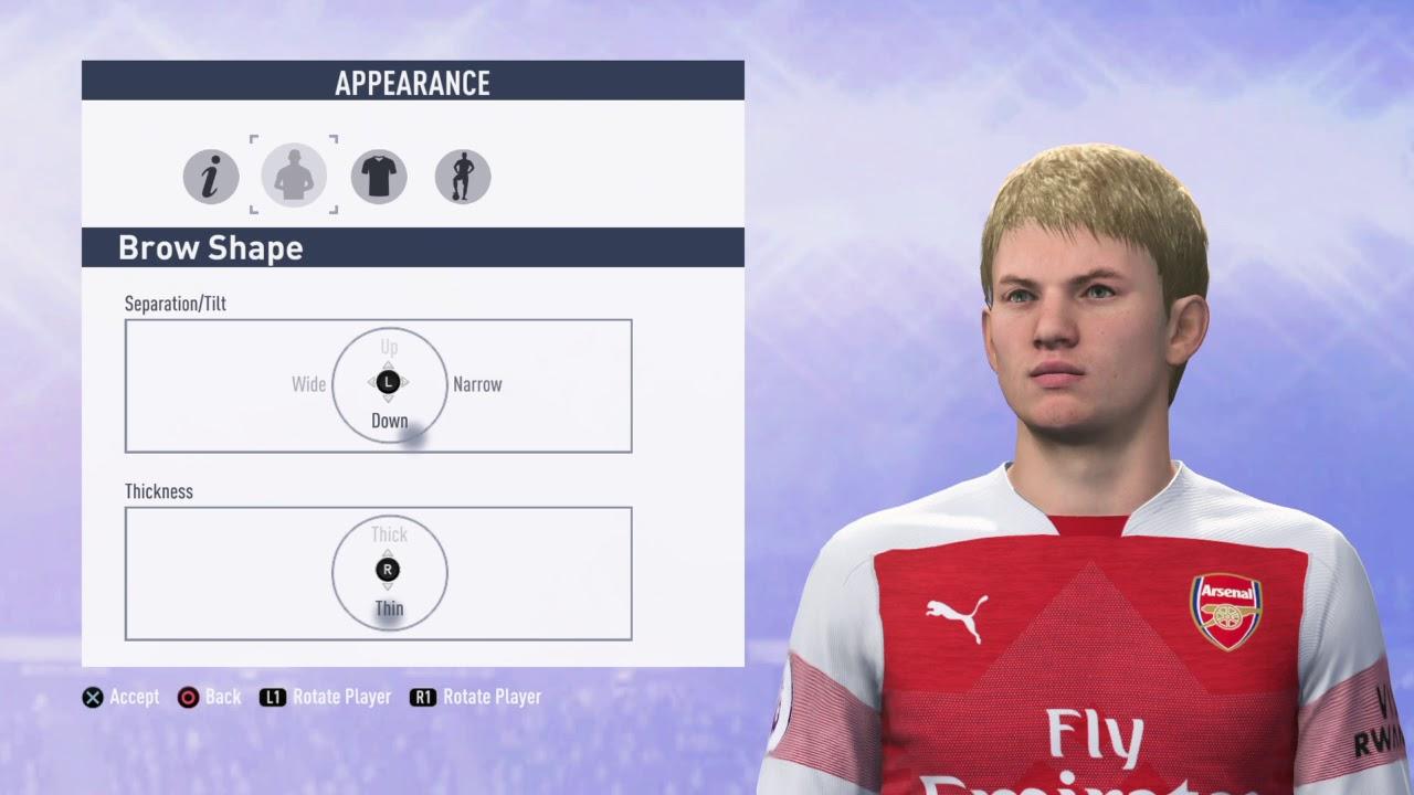 Fifa 19 Emile Smith Rowe Arsenal Build Youtube