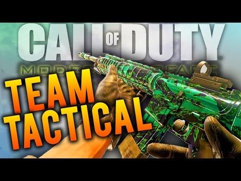 NEON TIGER CAMO TEAM TACTICAL! - CoD 4 Modern Warfare Remastered