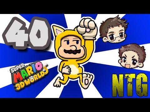 Super Mario 3D World #40 -- Coin Cats! -- No Talent Gaming