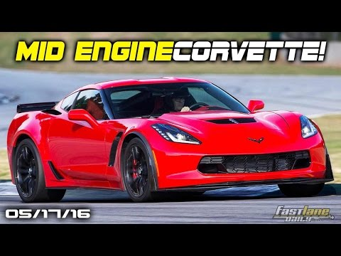 C8 Corvette with Mid-Engine, BMW Porsche 911 Rival,  BMW planning Luxurious iCar - Fast Lane Daily