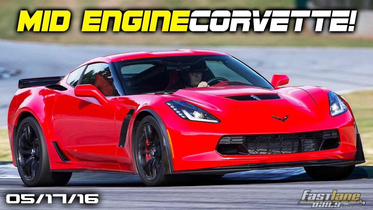C8 Corvette with Mid-Engine, BMW Porsche 911 Rival, BMW ...