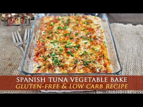 Spanish Tuna Vegetable Bake - Pastel De Atun Y Verdudas Recipe