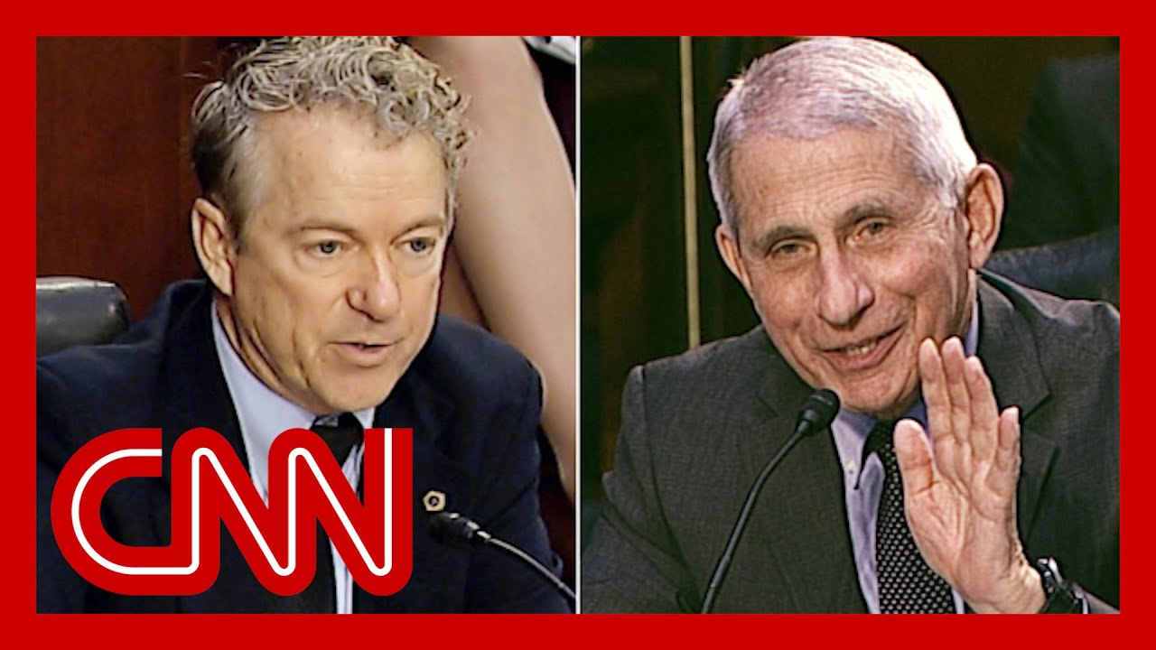 Rand Paul challenges Dr. Fauci (again). Watch his response