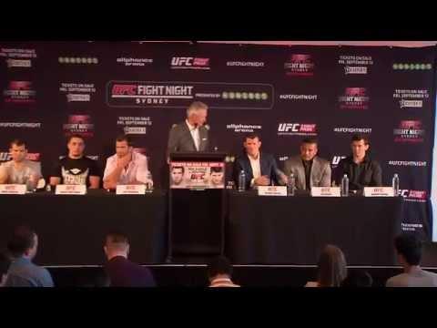 Fight Night Sydney: Ticket On-Sale Press Conference