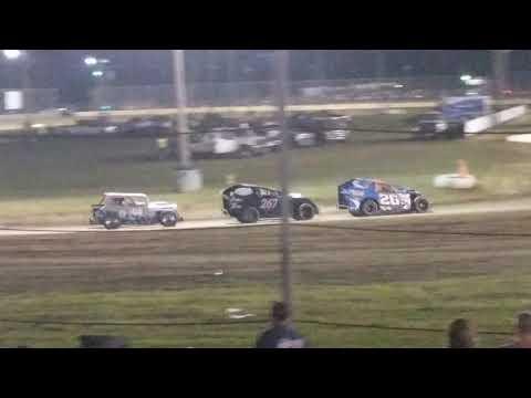 b-main at Mercer Raceway Park 7/14/18