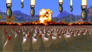 50.000 TAVUK VS NÜKLEER BOMBA