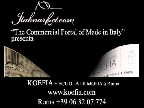 Scuola di moda a roma koefia youtube for Scuola di moda roma