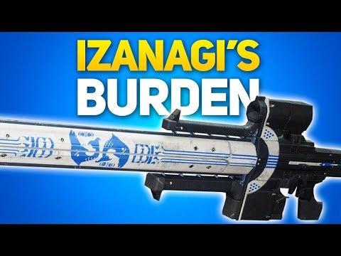 Destiny 2: How to Get Izanagi's Burden - Exotic Kinetic Sniper (Full Quest Guide) thumbnail