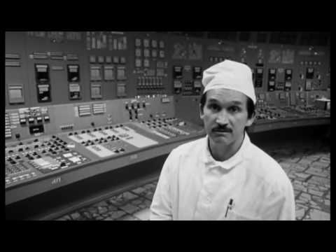 Tour inside 3-rd working unit of Chernobyl Nuclear Power Plant (video after disaster) - 1998
