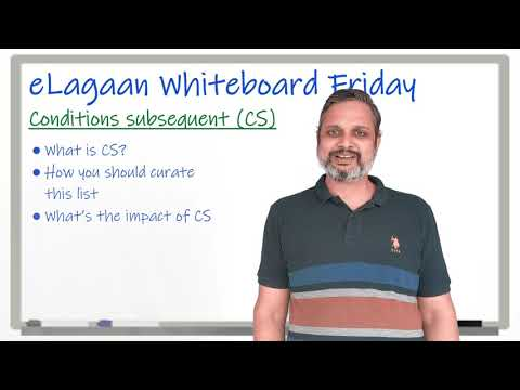 Conditions subsequent during fund raise [Whiteboard Friday]