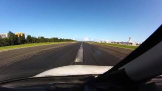 citation cj4 landing san juan