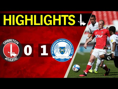 Charlton Peterborough Goals And Highlights