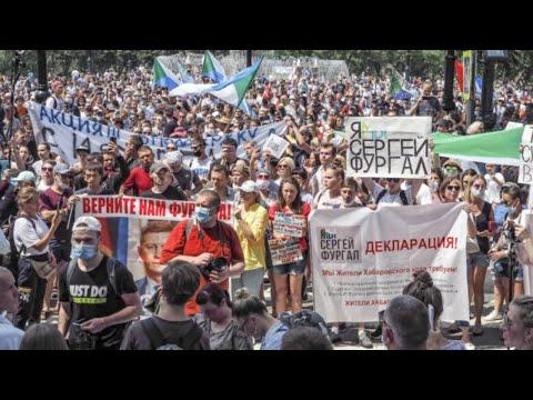 ⭕️ Хабаровск разбудил Россию | Мощный митинг