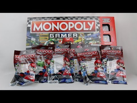 Monopoly Gamer: Mario Kart Power Packs Unboxing!