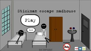 Stickman Escape Madhouse vs Stickman School Escape vs Stickman Escape Lift 2 Animation