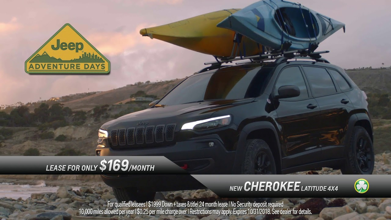 Jake Sweeney Jeep >> Lease Cherokee Latitudes For Just 169 Mo Jake Sweeney Jeep