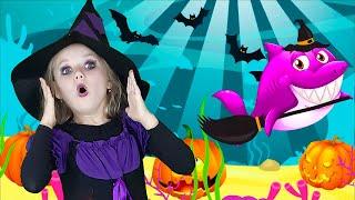Baby Shark Halloween   Nursery Rhymes & Kids Songs by Olivia Kids Tube