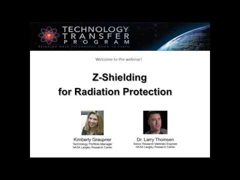 NASA Langley Radiation Protection Technology Webinar