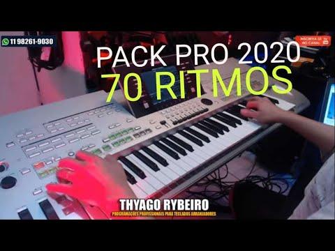 PACK PRO 2020 - TYROS 3/TYROS4 YAMAHA - 70 RITMOS SAMPLEADOS *11982619030*