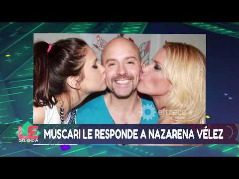 Muscari le responde a Nazarena Vélez