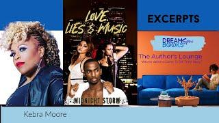 Authors Lounge Reading Kebra Moore aka Midnight Storm