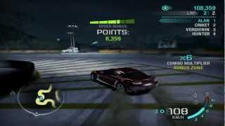 Need For Speed: Carbon - Race #8 - Kimei Temple (Drift)