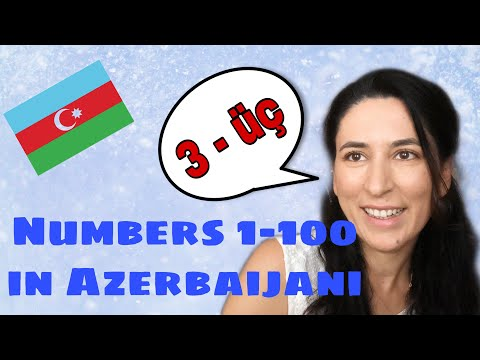 Learn Azerbaijani: Numbers 1-100 & Phrases. Lesson 5