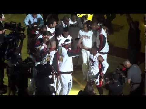 Miami Heat 2012-2013 Season Starting Lineup Opening Night (HD)