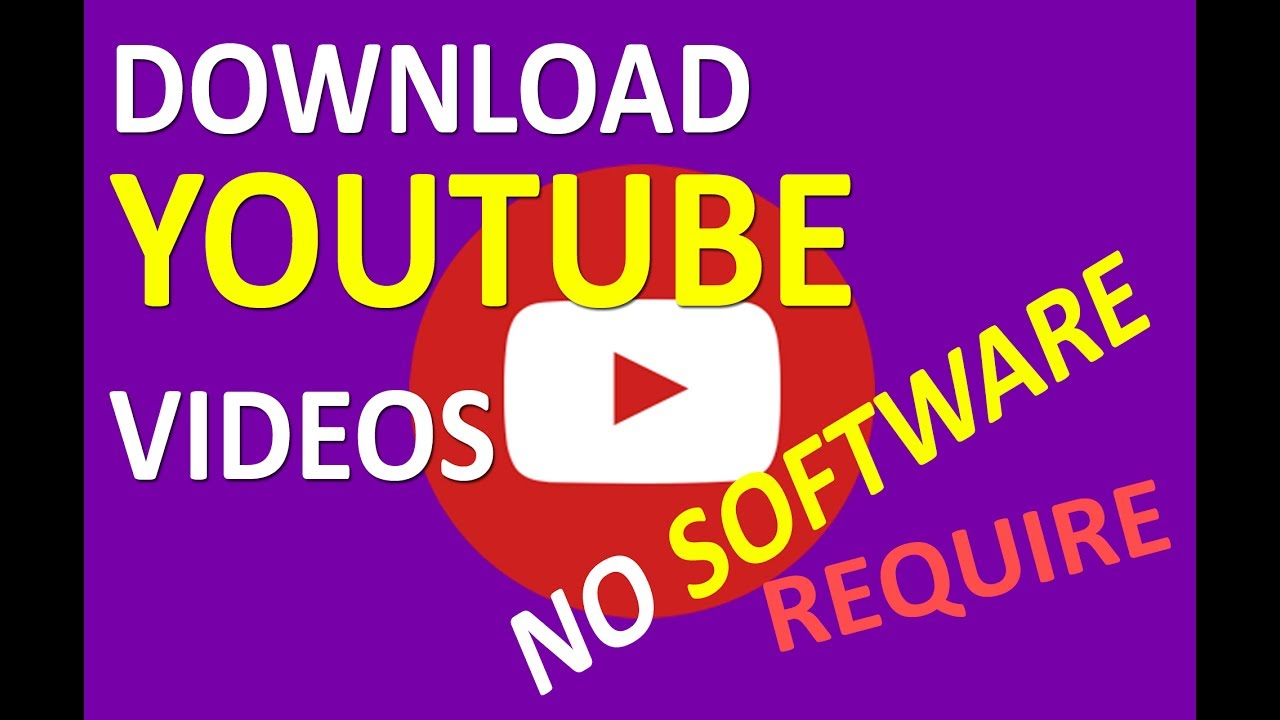 How To Download Youtube Video Without Any Software Laptop, Desktop And  Smartphone