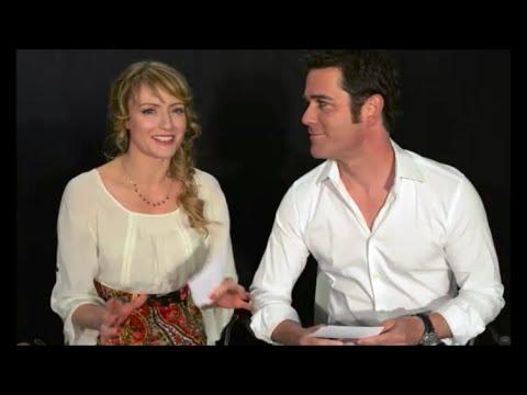 Murdoch Mysteries   questions: Hélène Joy and Yannick Bisson answer questions.