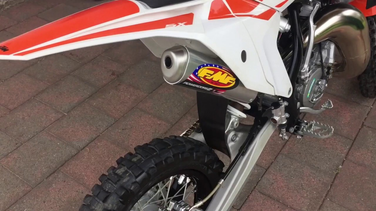 How To Remove Ktm  Silencer