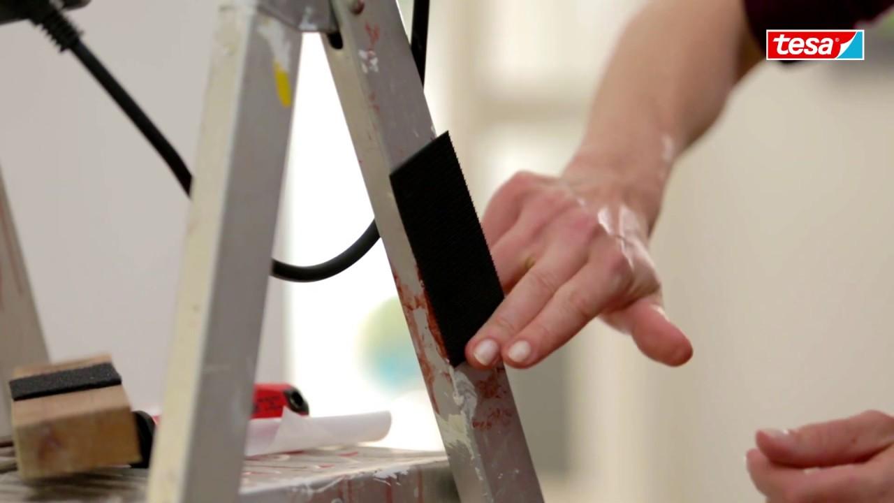 Fixation Tableau Sans Trou tesa® on & off - fixer des objets lourds au mur sans percer !