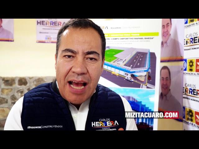 Carlos Herrera propone el diseño del Centro Integral para la Mujer en Zitácuaro