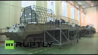 بالفيديو من روسيا.. شاهد كيفية تحويل طائرة هليكوبتر إلى مدرعات أرضية