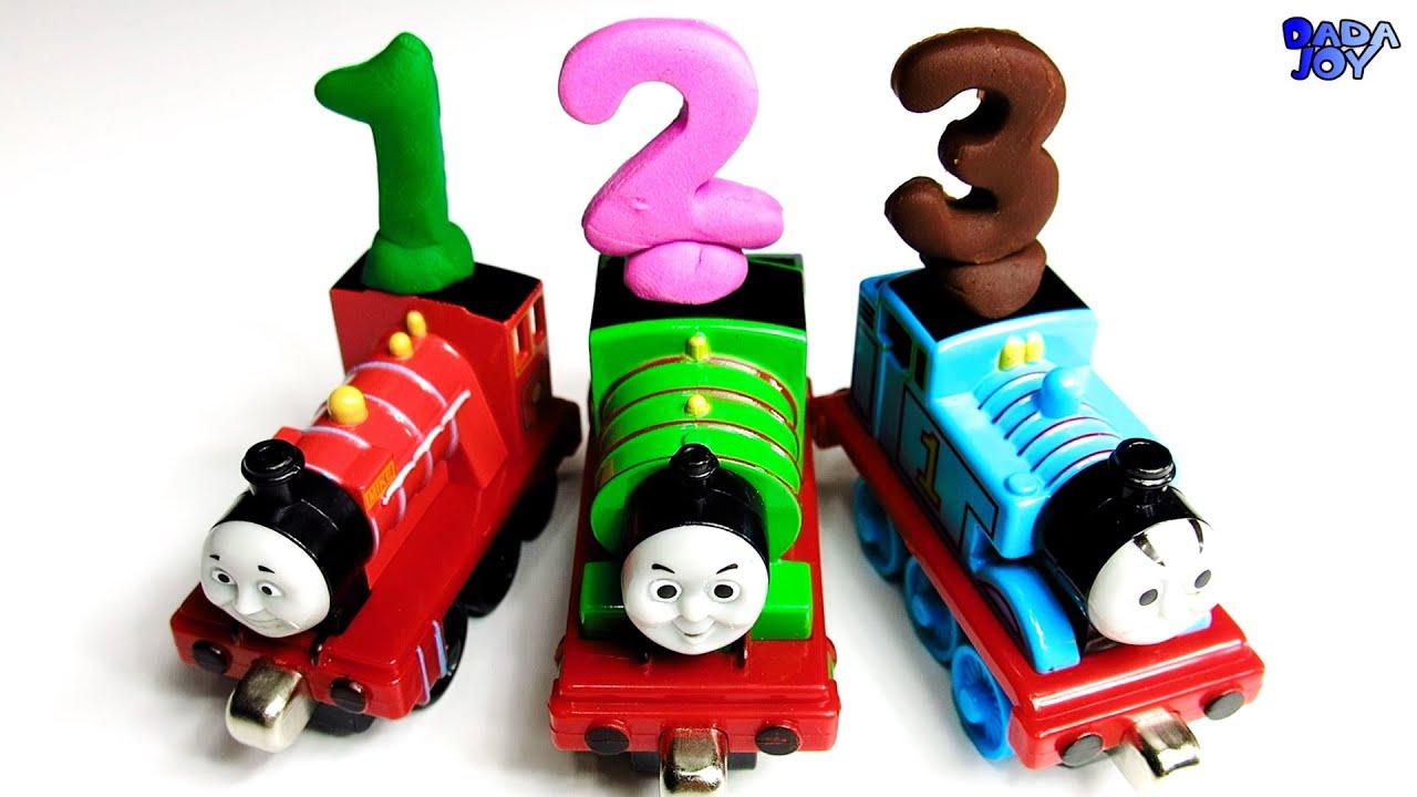 Aprender a contar del 1 al 20 Thomas y sus Amigos dibujos animados