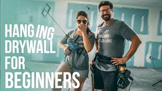How To Hang Drywall for Beginners    Nestrs