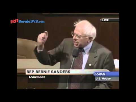 Bernie Sanders on The Fraud of the Bush Tax Cuts (May, 22 2003)