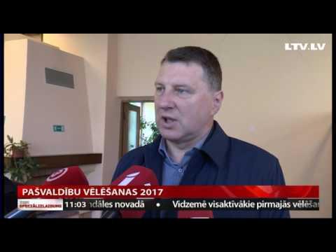 Valsts prezidents Raimonds Vējonis piedalās pašvaldību vēlēšanās