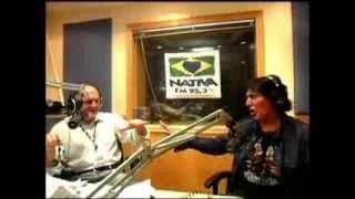 (JS) NATIVA FM MANO VEIO E MANO NOVO COM O CANTOR DA ROSA VERMELHA JOÃO PAULO JR