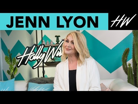 JENN LYON Dishes on Her Favorite CLAWS Nail Designs And  Stories !!  Hollywire