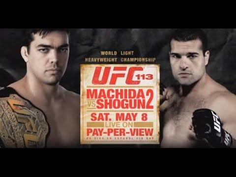 UFC 113: Machida vs Shogun 2 |...