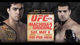UFC 113: Machida vs Shogun 2 - Extended Preview