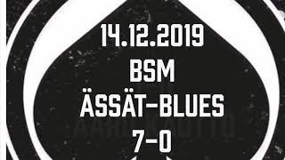 Juniori-Ässät - B1-joukkue - 14.12.2019 BSM Ässät-Blues Maalikooste
