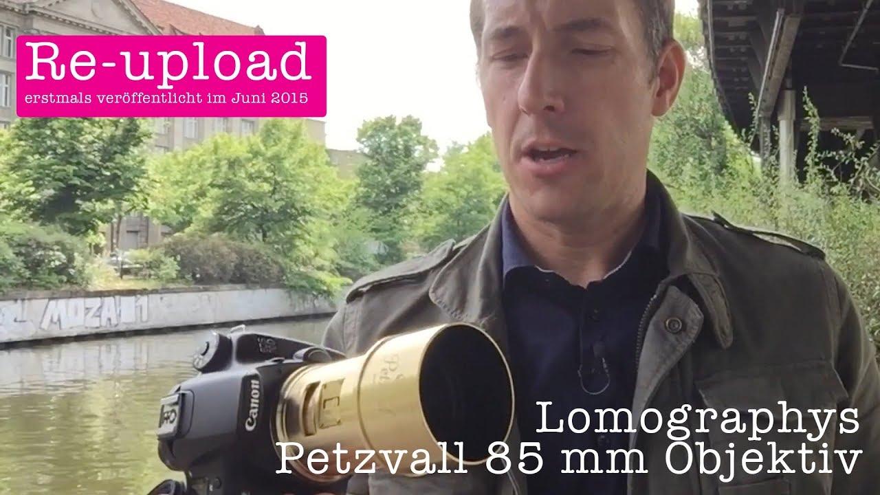 Lomographys Petzval 85mm Objektiv im Test - YouTube