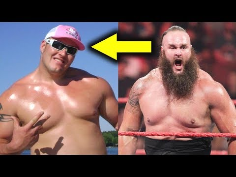 10 Current WWE Wrestlers Who Looked Different Before WWE - Braun Strowman & more