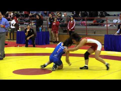 2015 Nordhagen Classic: 53 kg Jasmine Mian vs. Jessica Medina