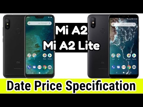 Mi A2 vs Mi A2 Lite Launched 24th July in India ? - Price Specification Features [Hindi] - 동영상