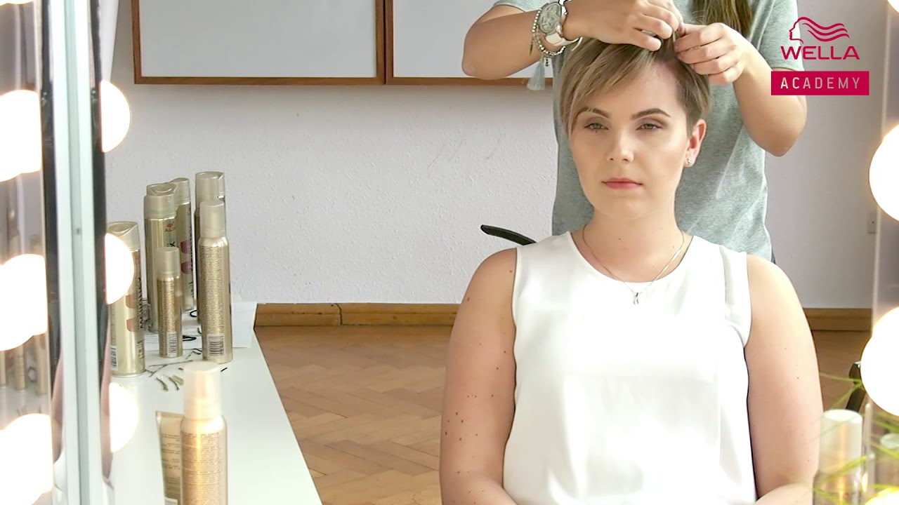 3 Triki Dla Krótkich Włosów Hair By Jul Fryzury Krok Po Kroku